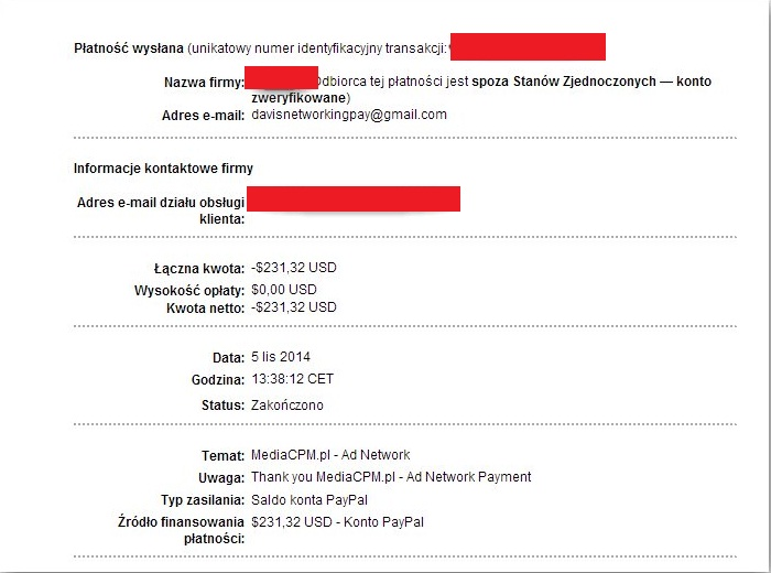 mediacpm payment proof